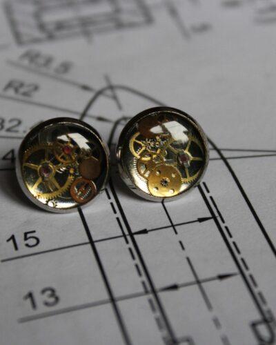 """Earrings """"Synthea"""" #4"""