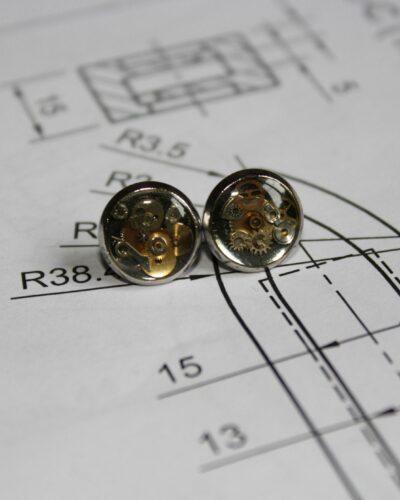 """Earrings """"Synthea"""" #10"""