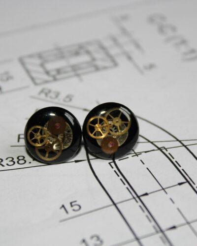 """Earrings """"Synthea"""" #12"""
