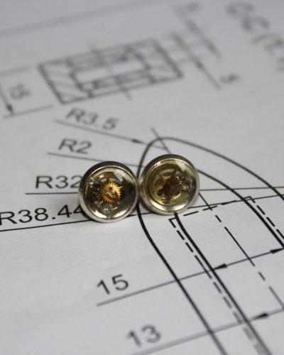 """Earrings """"Synthea"""" #13"""