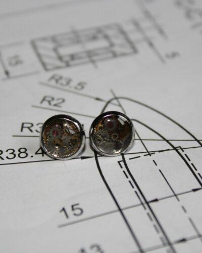 """Earrings """"Synthea"""" #14"""