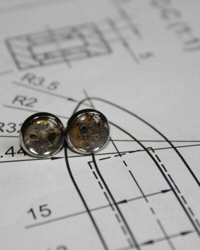 """Earrings """"Synthea"""" #15"""