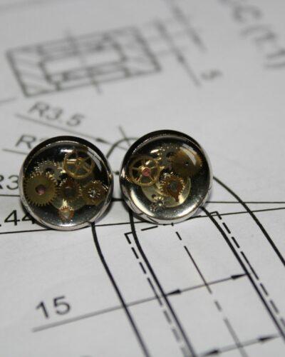 """Earrings """"Synthea"""" #16"""
