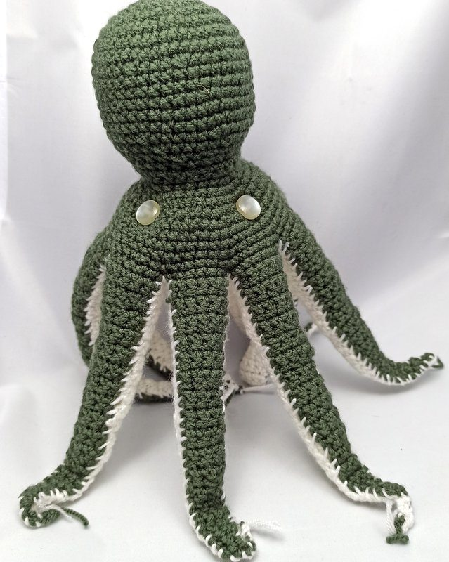 Octopus plushie Green